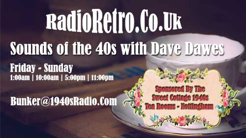 Dave Dawes | Sounds of the 40s