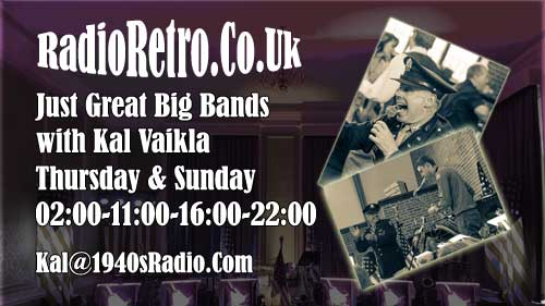 Kal Vaikla presents Just Great Big Bands